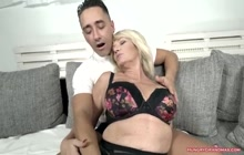 Granny Loves a Big Cock in Her Mature Pussy