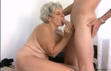 Old woman wants big stiff cock