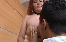 Mature hoe with young lover