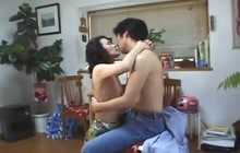Young Man Fucks Older Asian Woman