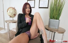 Kinky cougar pov riding cock