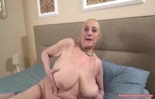 Granny With Big Tits Enjoying Hardcore Fucking