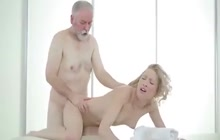 Young Sexy Masseur Pleases Her Client